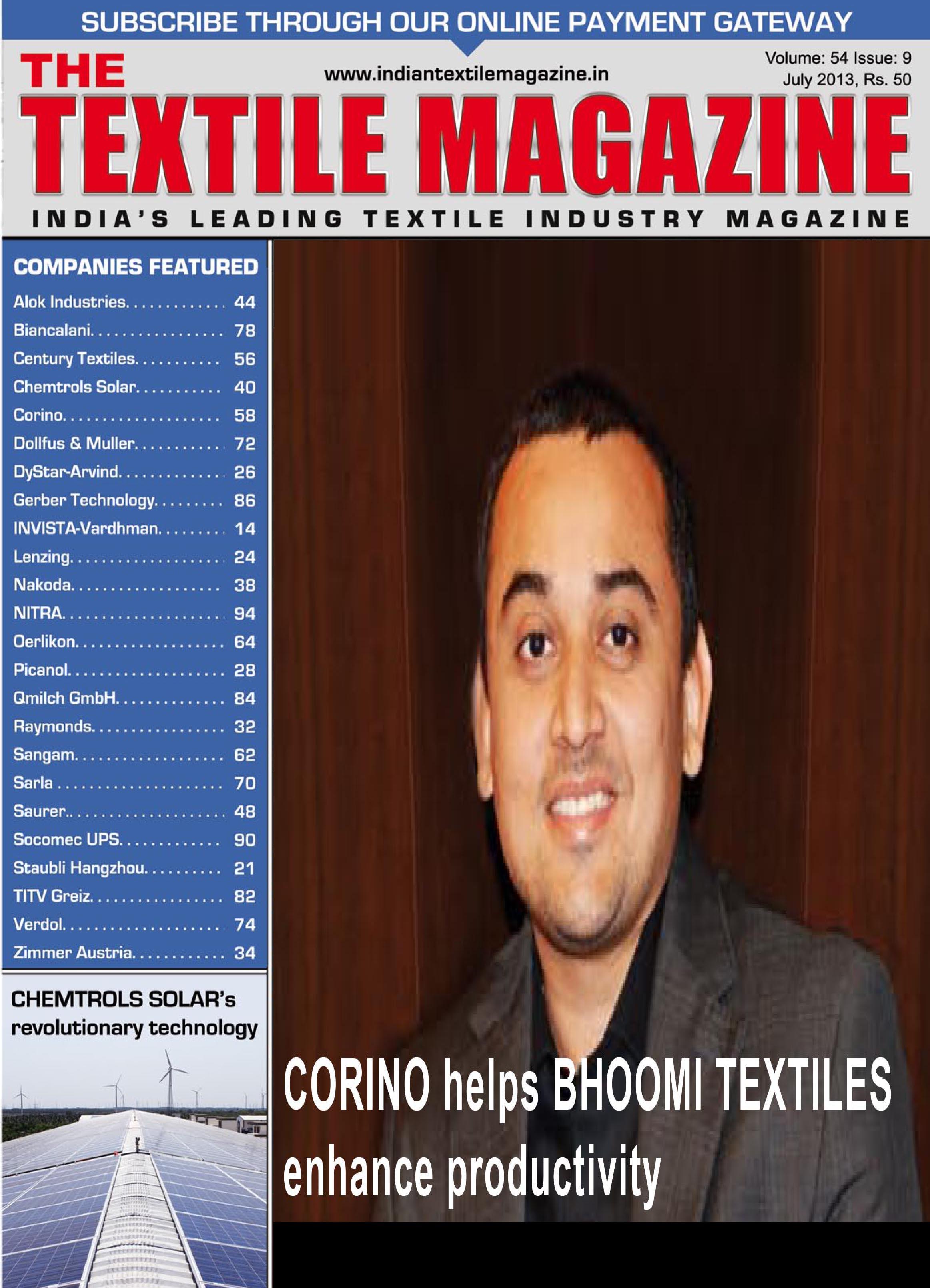 Bhoomi Textiles- Textiles Magazine